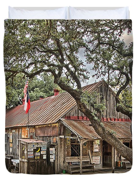 Luckenbach Post Office And General Store_1 Duvet Cover