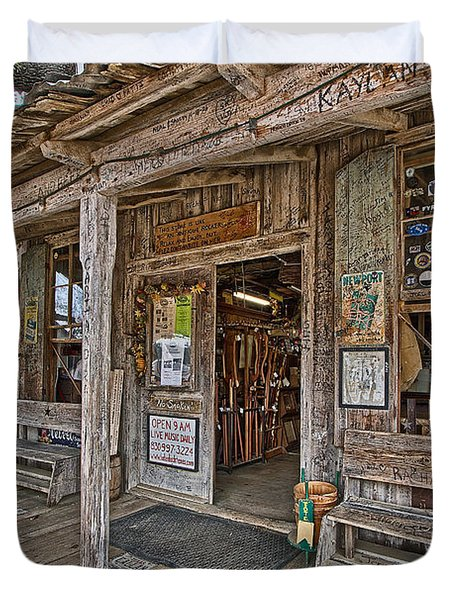 Luckenbach Post Office And General Store_4 Duvet Cover
