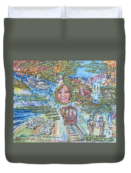Lucy In The Sky With Diamonds Duvet Cover