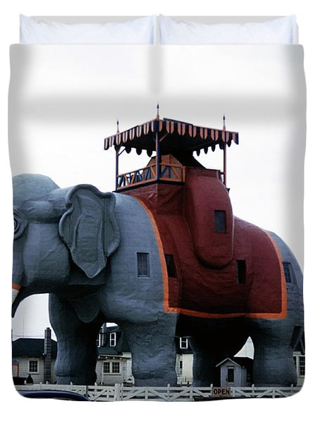 Lucy The Elephant 2 Duvet Cover