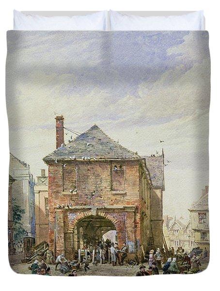 Ludlow Duvet Cover by Louise J Rayner