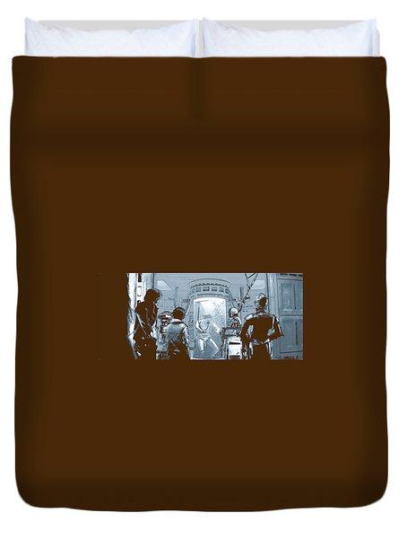 Luke In Bacta Duvet Cover by Kurt Ramschissel