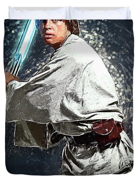 Luke Skywalker Duvet Cover