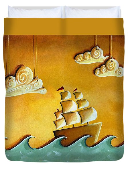 Lullaby Bay Duvet Cover by Cindy Thornton