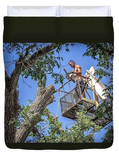 Lumberjack Duvet Cover