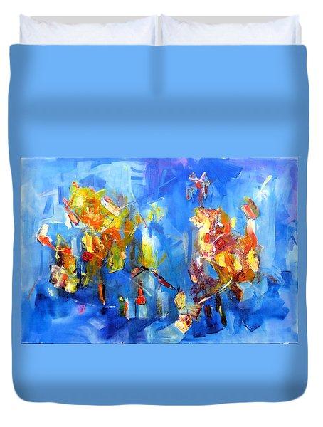 Luminous Celebration  Duvet Cover