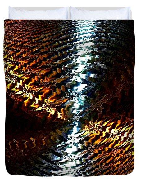 Luminous Energy 10 Duvet Cover by Will Borden