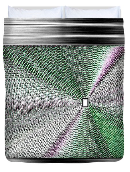 Luminous Energy 13 Duvet Cover by Will Borden