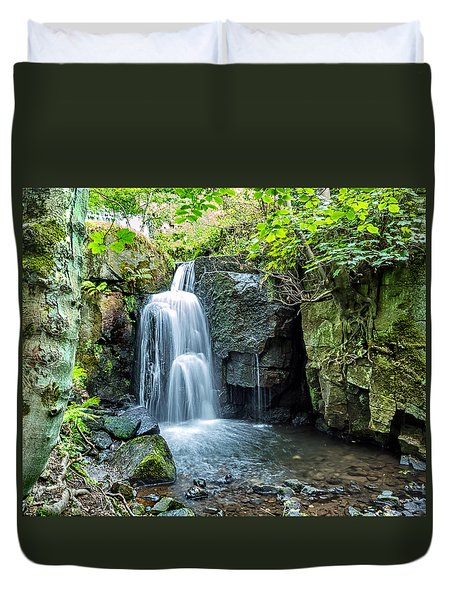 Lumsdale Falls Duvet Cover