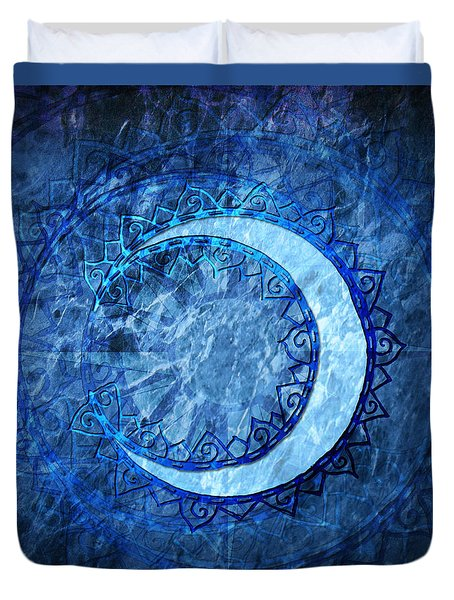 Luna Duvet Cover by Kenneth Armand Johnson