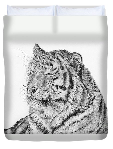 Luna Duvet Cover by Shevin Childers