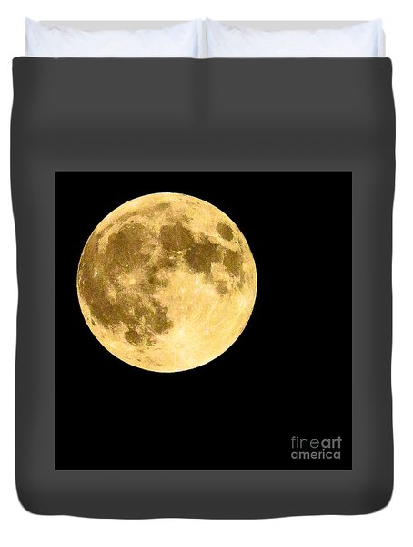 Lunar Close Up Duvet Cover