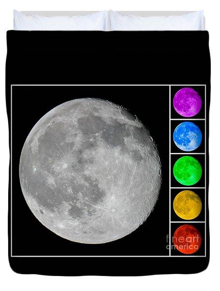 Lunar Color Shots 02 Duvet Cover
