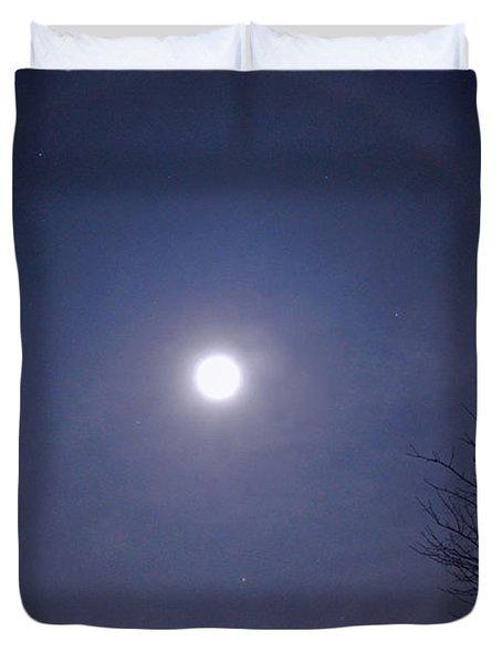 Lunar Corona Duvet Cover