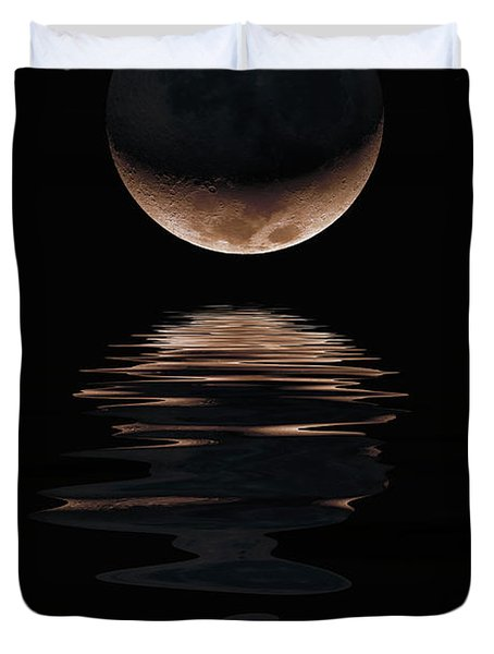 Lunar Dance Duvet Cover by Jerry McElroy