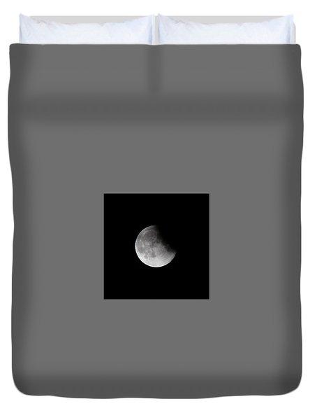 Lunar Eclips Duvet Cover by Cathie Douglas