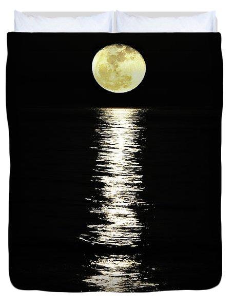 Lunar Lane Duvet Cover