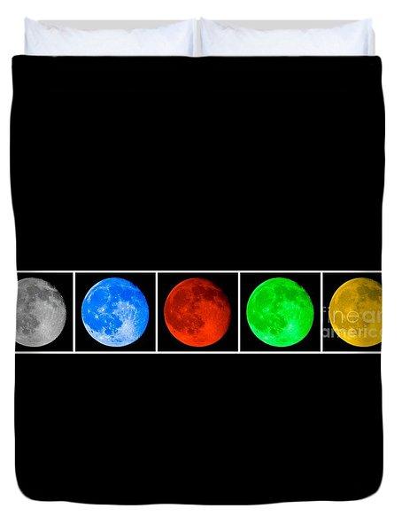 Lunar Line Duvet Cover