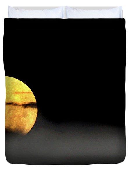 Lunar Mist Duvet Cover by Marion Cullen