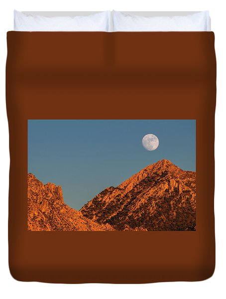 Lunar Sunset Duvet Cover