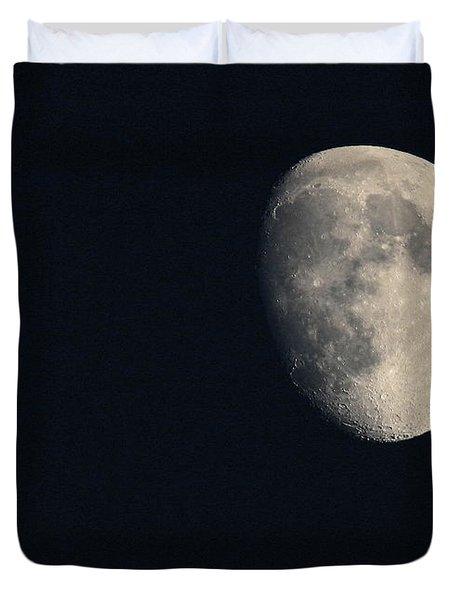 Lunar Surface Duvet Cover by Angela Rath