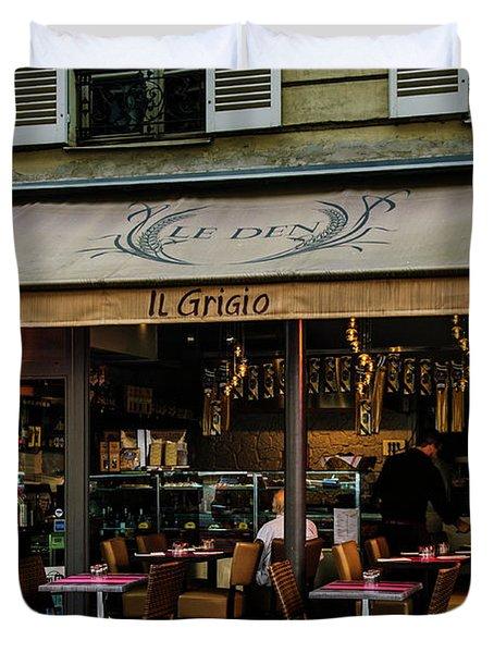 Lunch In Paris Duvet Cover