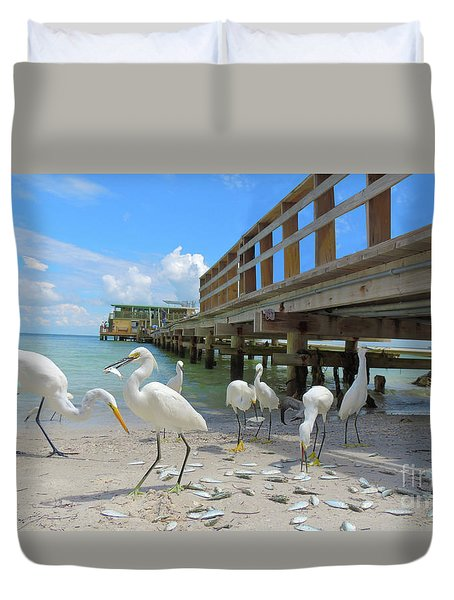 Lunch Time Duvet Cover