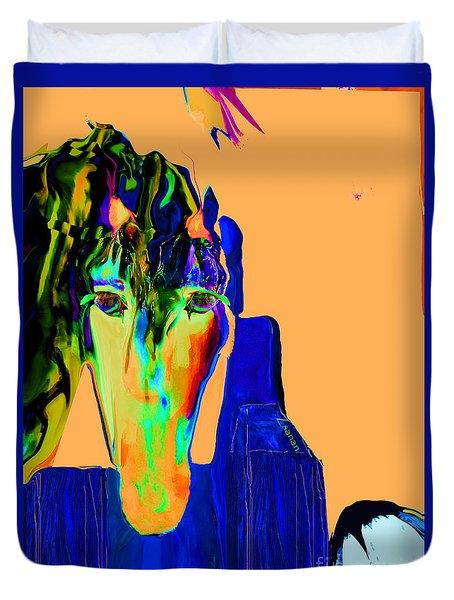 Lungta Windhorse No. 3 Duvet Cover