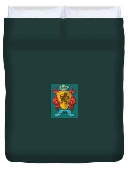 Lupari Family Crest Duvet Cover
