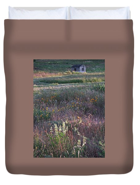 Lupine Duvet Cover by Laurie Stewart