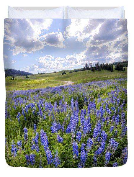Lupine Pass Duvet Cover
