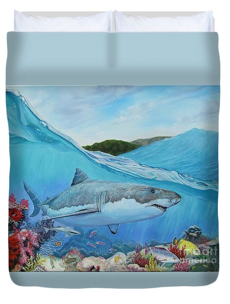 Lurking Duvet Cover