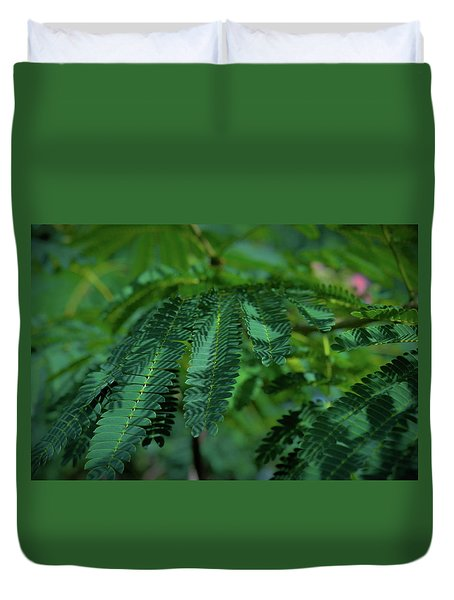 Lush Foliage Duvet Cover