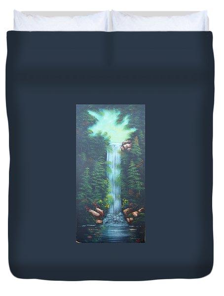 Lush Waterfall Duvet Cover