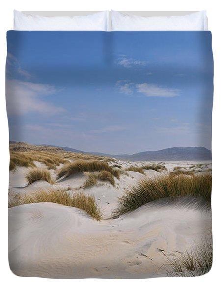Luskentyre Sand Dunes Duvet Cover