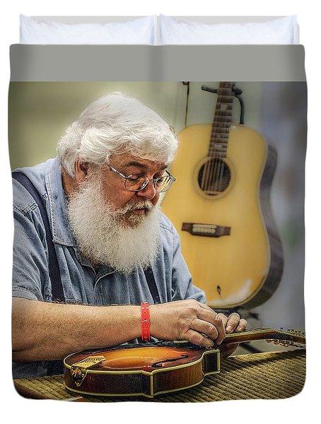 Luthier Duvet Cover