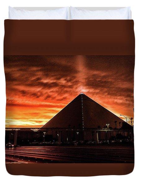 Luxor Las Vegas Duvet Cover