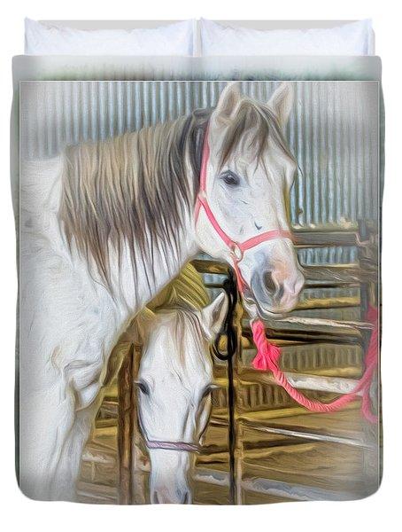 Lvha_ Digital Art Painting #1 Duvet Cover