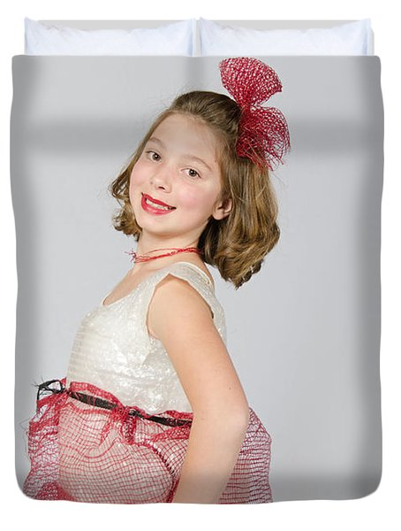 Lydia In Wraps Duvet Cover