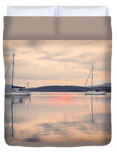 Lynn-of-lorn Duvet Cover by Ray Devlin