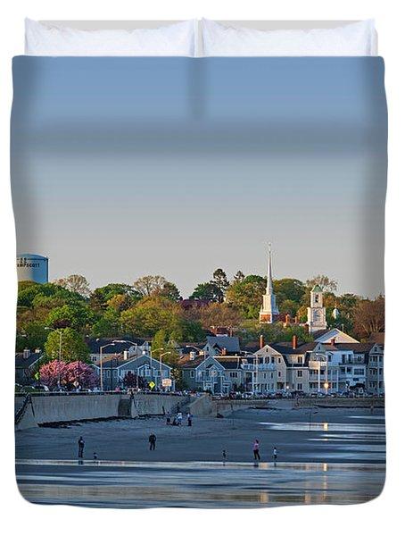 Lynn Waterfront Swampscott Water Tower Lynn Ma Duvet Cover