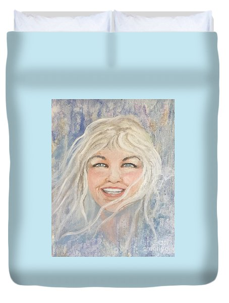 Lynnportrait Of A Young Woman  Duvet Cover