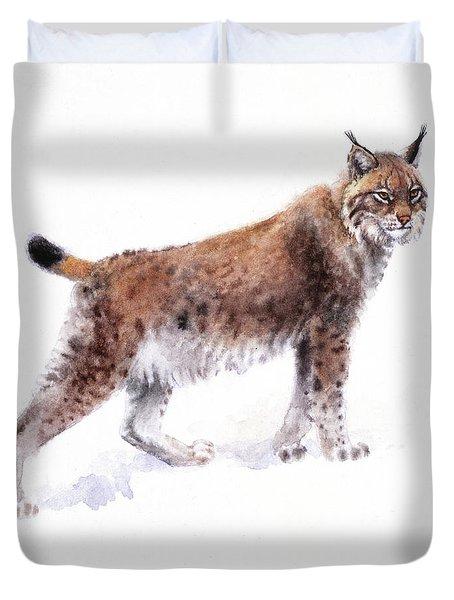 Lynx Duvet Cover