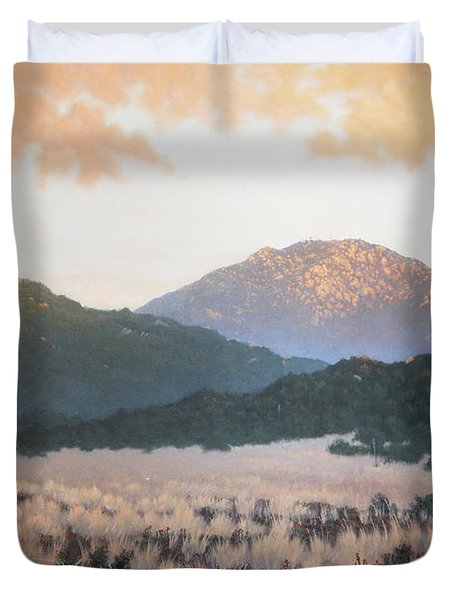 Lyons Peak Duvet Cover