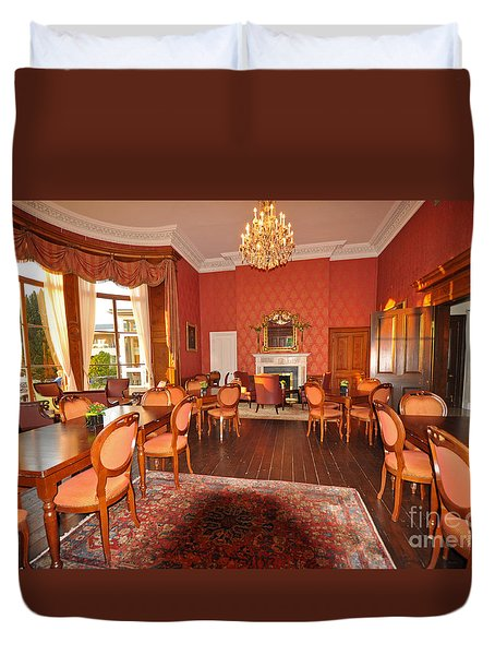 Lyrath Estate Hotel Dining Duvet Cover by Cindy Murphy - NightVisions