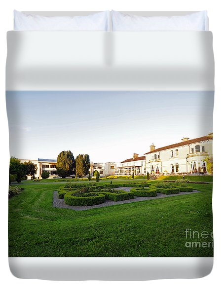 Lyrath Estate Hotel Grounds Kilkenny Duvet Cover by Cindy Murphy - NightVisions