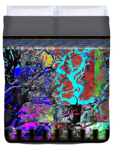 Lyrical Tree #3 Duvet Cover