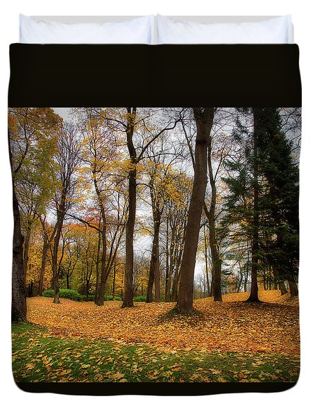 Lysaker Woods Duvet Cover