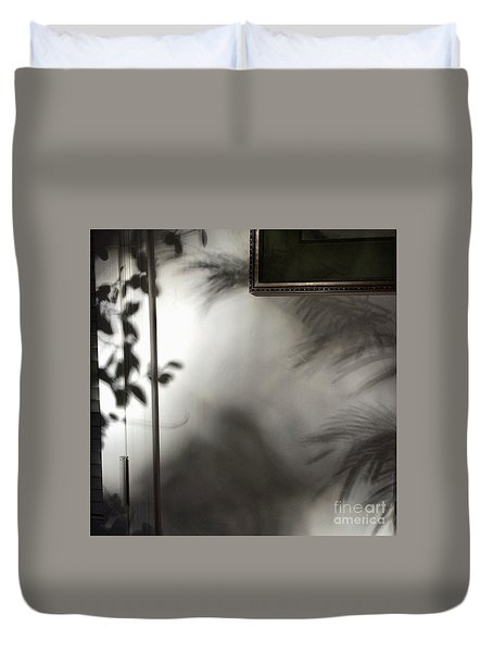 Lysiloma Shadows Duvet Cover by Kim Nelson