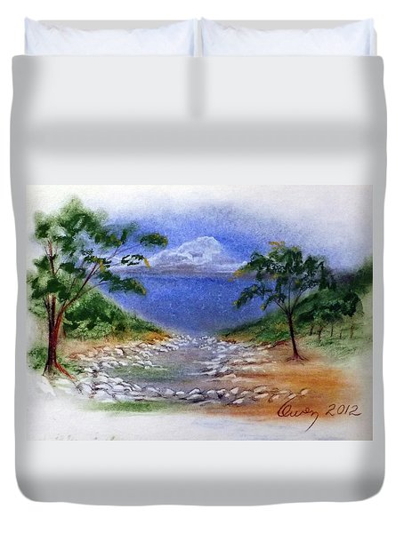 Lytle Creek Duvet Cover